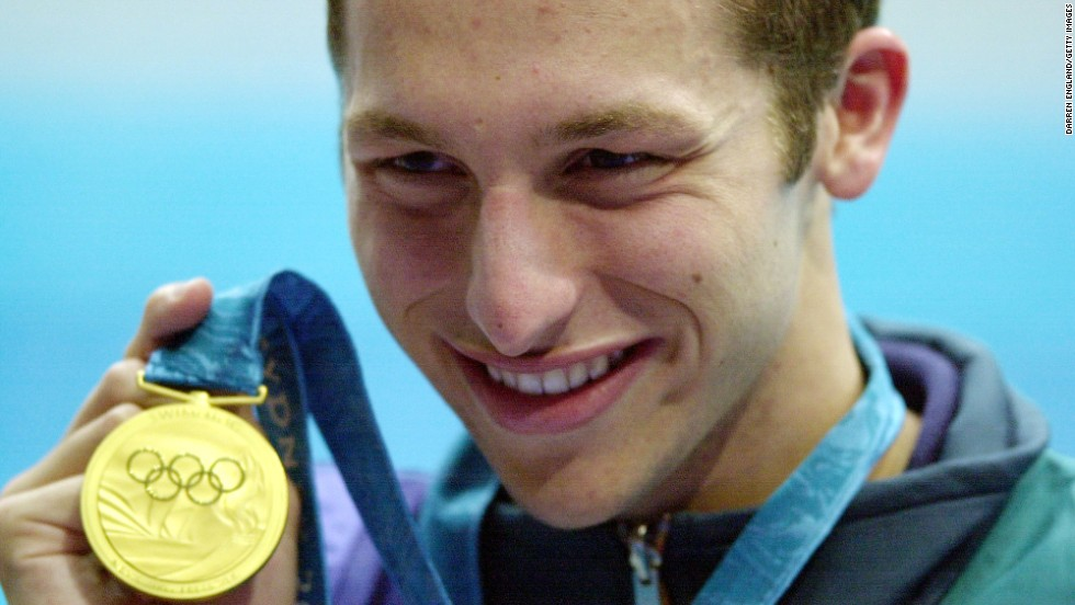 Thorpe won three gold medals in his first Olympic Games and became a huge hit with his home fans. The Sydney Games were a huge success for Australia and its new superstar. Just 17 at the time, Thorpe ended up with five medals in total and established himself as one of the sport's most exciting talents.