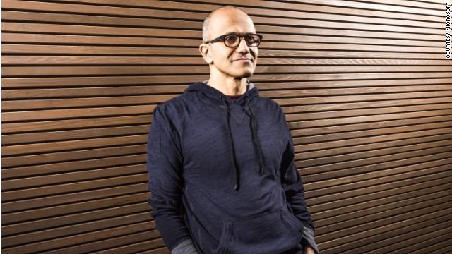 Who is Microsoft's Satya Nadella?