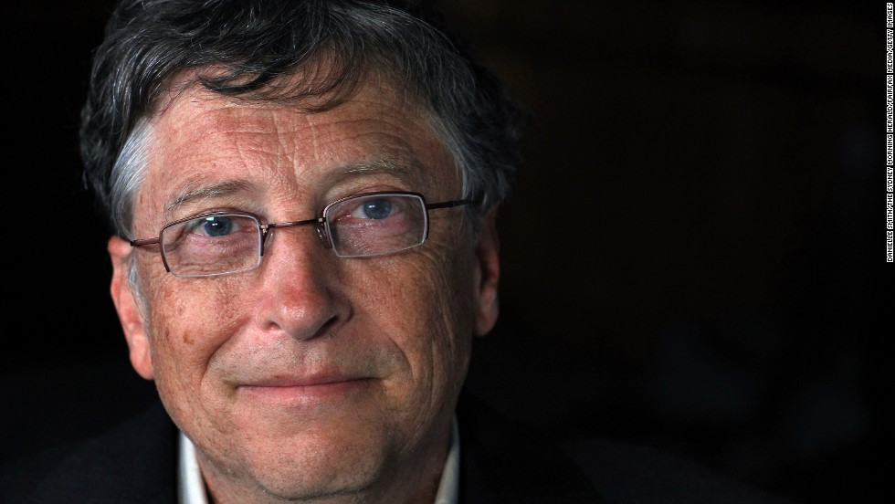 Bill Gates, founder of Microsoft, is stepping down as chairman of the board of the company, the world's largest software company. Gates was named on the Forbes World's Billionaires List for 12 consecutive years from 1995 to 2007. This photo was taken in Sydney in 2011. Take a look at a gallery showing Gates through the years.