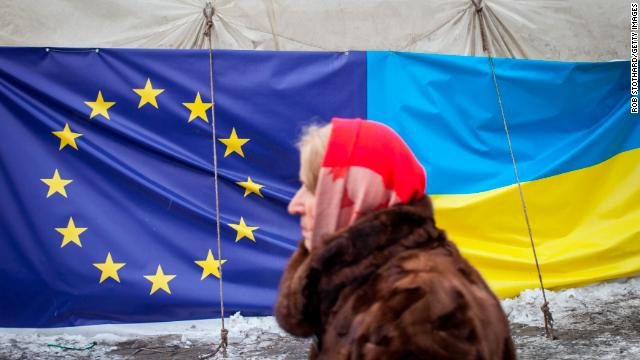 In November, many Ukrainians rose against their government's decision to abandon closer ties with the European Union.