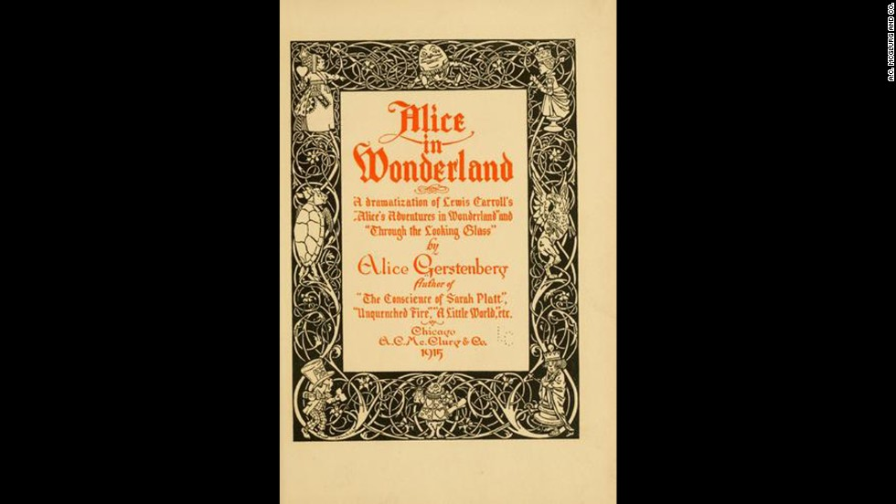 'Alice in Wonderland' by Lewis Carroll