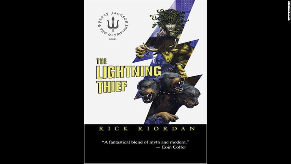 'The Lightning Thief' by Rick Riordan