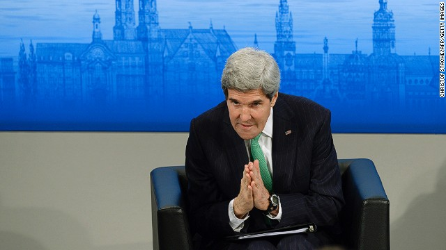 Kerry: Syria's al-Assad not winning