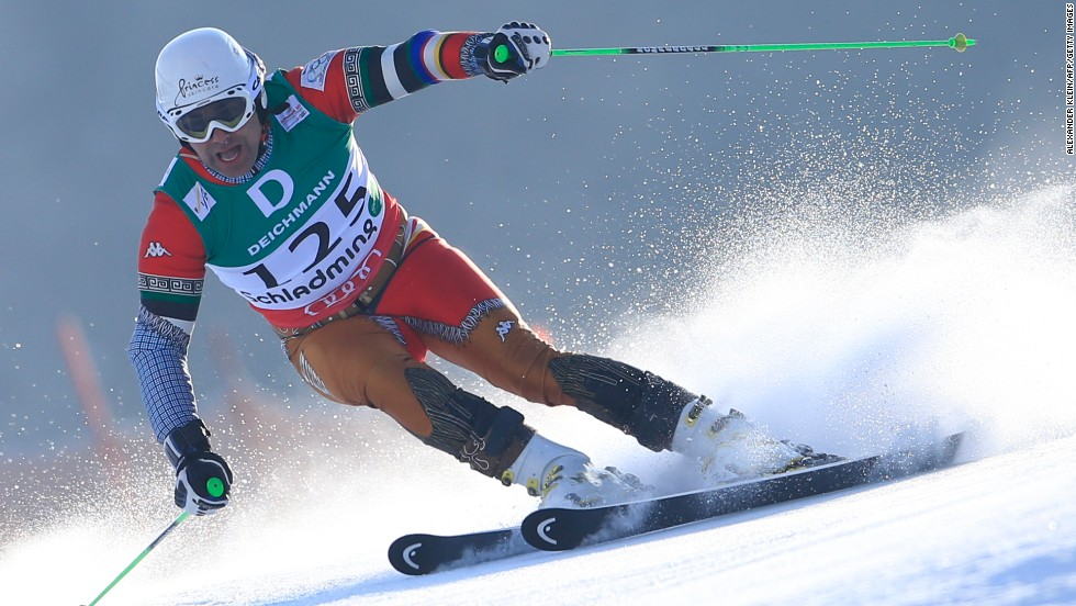 Hubertus von Hohenlohe will compete in the slalom category.