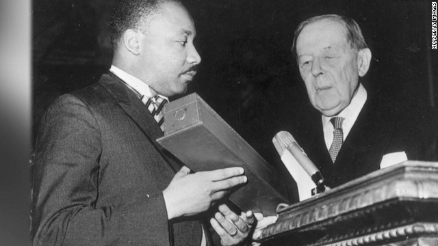 MLK children fight over dad's treasures
