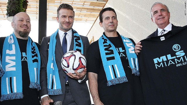 David Beckham bringing MLS team to Miami