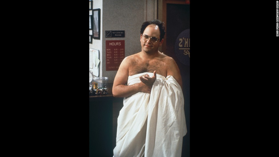 Alexander couldn't have been more lovably annoying as George Costanza.
