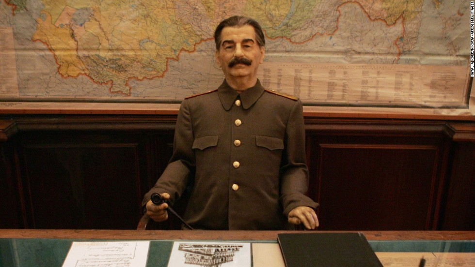 "The ""Man of Steel"" -- wax version -- in his Sochi dacha. Stalin established the resort as a summering spot for Russian politicos, including Vladimir Putin."
