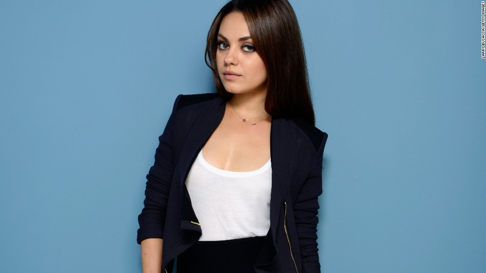 No. 9: Actress Mila Kunis