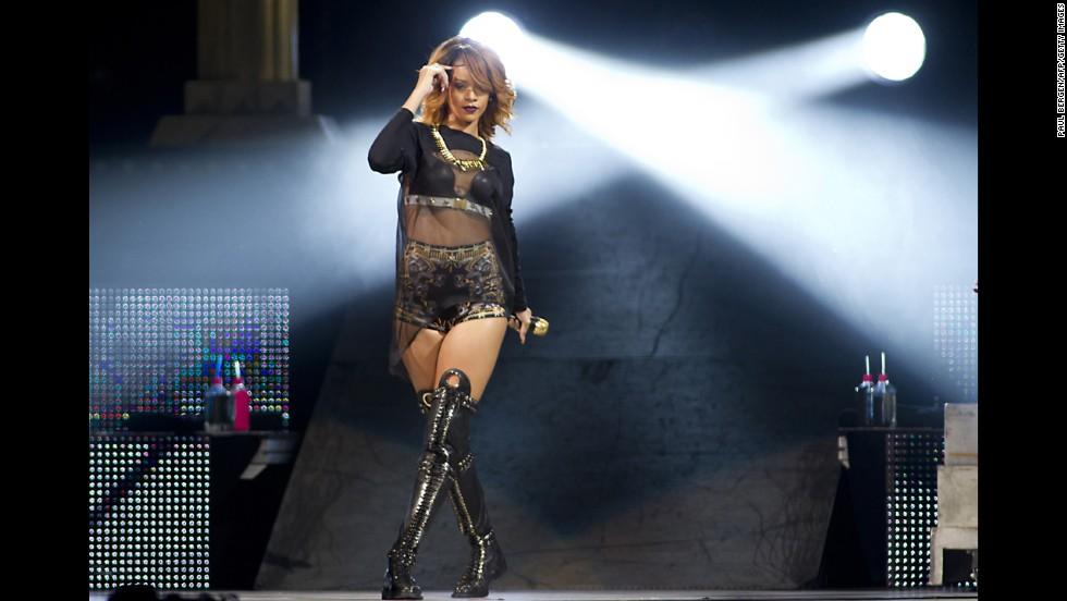Hit singer Rihanna was born Robyn Rihanna Fenty in Barbados.