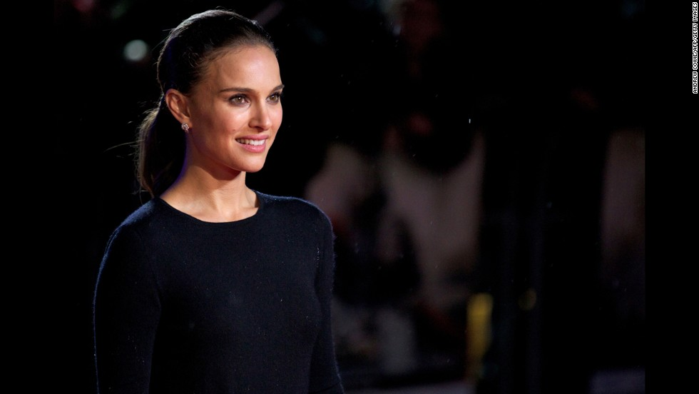 Natalie Portman was born Natalie Hershlag in Jerusalem in 1981. She moved to the U.S. when she was 3 but maintains citizenship of both the U.S. and Israel.