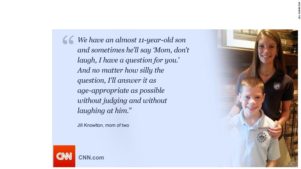Jill Knowlton for talking to teens