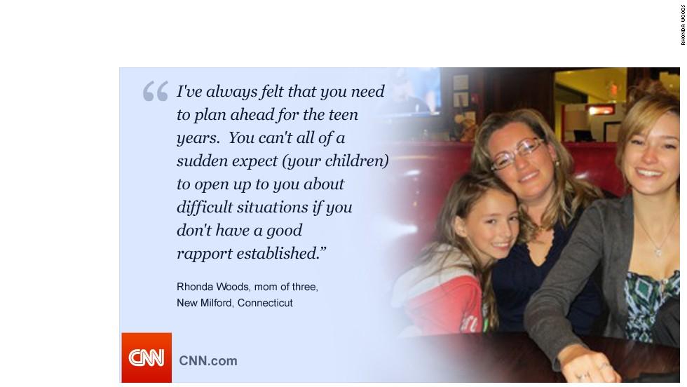 Rhonda Woods for talking to teens gallery