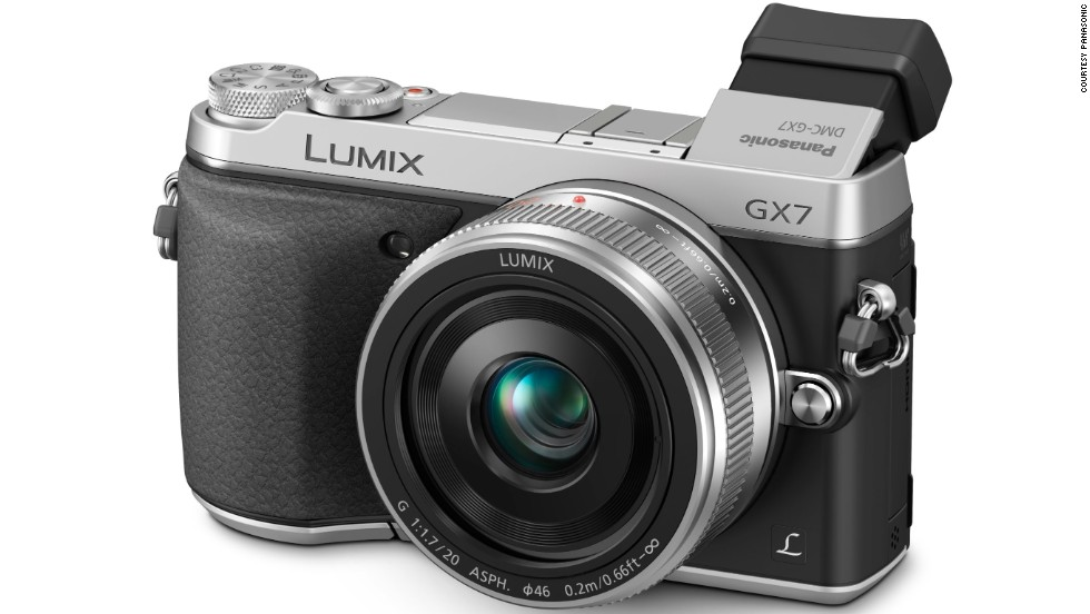 <strong>Panasonic GX7</strong>. The GX7 is heavier than a point-and-shoot but packs a sensor as large as those of DSLRs.A silent mode is great for keeping street photography discreet, while a chunky hand grip lends more stability.