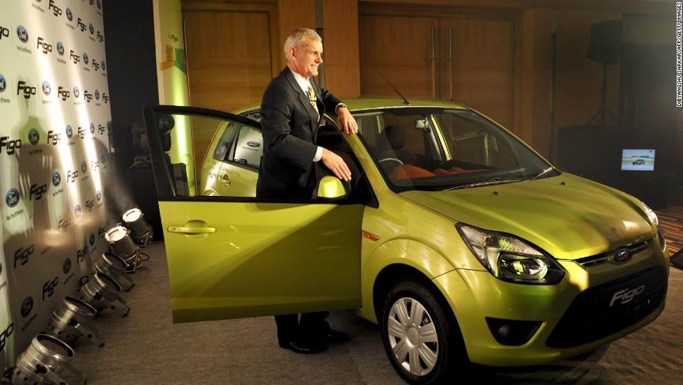 Ford espera que el nuevo sedan compacto Figo Concept sea un éxito en el Auto Expo 2014 en Nueva Delhi.