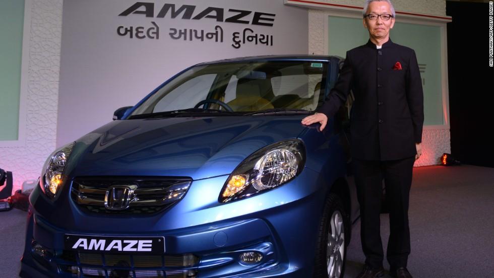 El Honda Amaze es el auto que funciona con diesel que más se vende en India, según el fabricante.