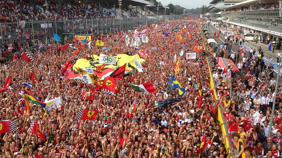 "Will this signed photo by Fernando Alonso be snapped up by a Ferrari fan? ""I took this photo on the podium at the 2013 Italian Grand Prix,"" he says. ""Stepping onto the Monza podium is always a special feeling."""