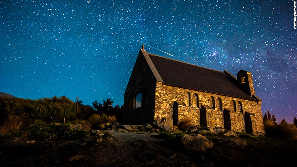 The church and Dark Sky Reserve behind it have graced many a photography roundup of beautiful places around the world.