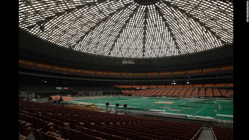 The Astrodome was listed on the National Register of Historic Places on January 30.
