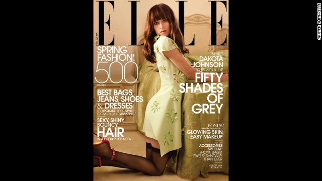 "Dakota Johnson will star in 2015's adaptation of ""Fifty Shades of Grey."""