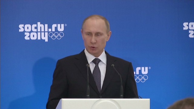 Olympics considered 'Putin's Games'