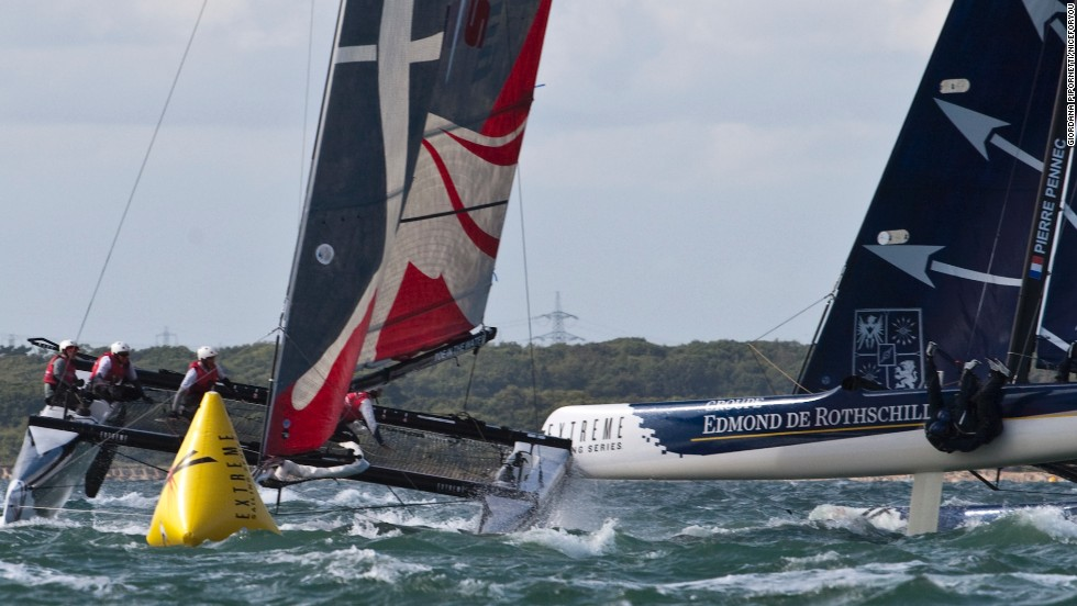 For all his experience, though, Ainslie has been warned about the perils of the series, where crashes and damage to multimillion-dollar catamarans are not uncommon.
