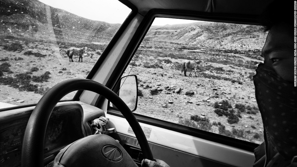 "<strong>Shortlist: Mustang, the Kingdom of Lo</strong><br />Photo and caption by Filippo Mutani <br />""On the road to Ghami. There are no proper roads in Upper Mustang, so people travel with jeep, donkey, yak, feet, and sometimes bike. Upper Mustang (from Tibetan: a fertile plain) is the former Kingdom of Lo, and today part of north-east Nepal, bordering China on the Himalayas. Upper Mustang is also known as a 'Tibet outside the Tibetan Border,' for it resisted the Chinese invasion, and it has been the base for the Tibetan guerrilla against China, from 1960 to 1974. Being forbidden to foreigners until 1992, Mustang is also the last Tibet enclave."""