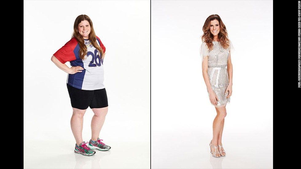 "When ""The Biggest Loser"" contestant Rachel Frederickson showed just how much weight she lost on the NBC competition in season 15 -- 155 pounds, to be exact -- not everyone was impressed. A number of viewers expressed concern that she had become ""too skinny,"" although Frederickson said that she feels fine."
