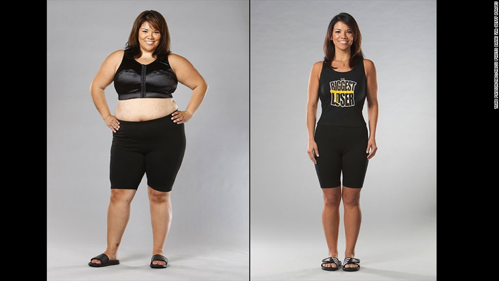 "Michelle Aguilar's 100-pound weight loss on season 6 of ""The Biggest Loser"" was more than just a physical change. ""Not only did it show me that I was capable of more than I believed I was, but it also helped me to truly find myself,"" <a href=""http://www.beliefnet.com/Entertainment/Books/Facing-the-Fear-With-Michelle-Aguilar.aspx"" target=""_blank"">she said</a>. ""I learned to change from the inside out."""