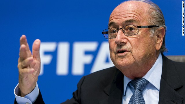 Sepp Blatter has worked for FIFA for 39 years, having started as a technical director in 1975.