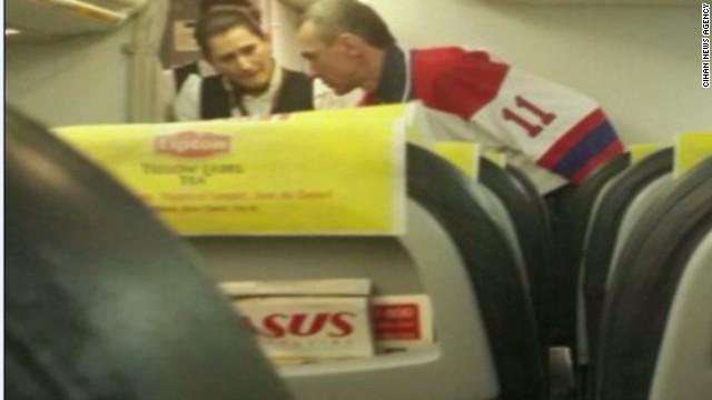 Hijacker tried to take plane to Sochi