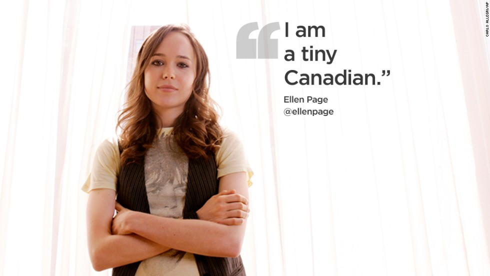 Twitter quotes Ellen Page