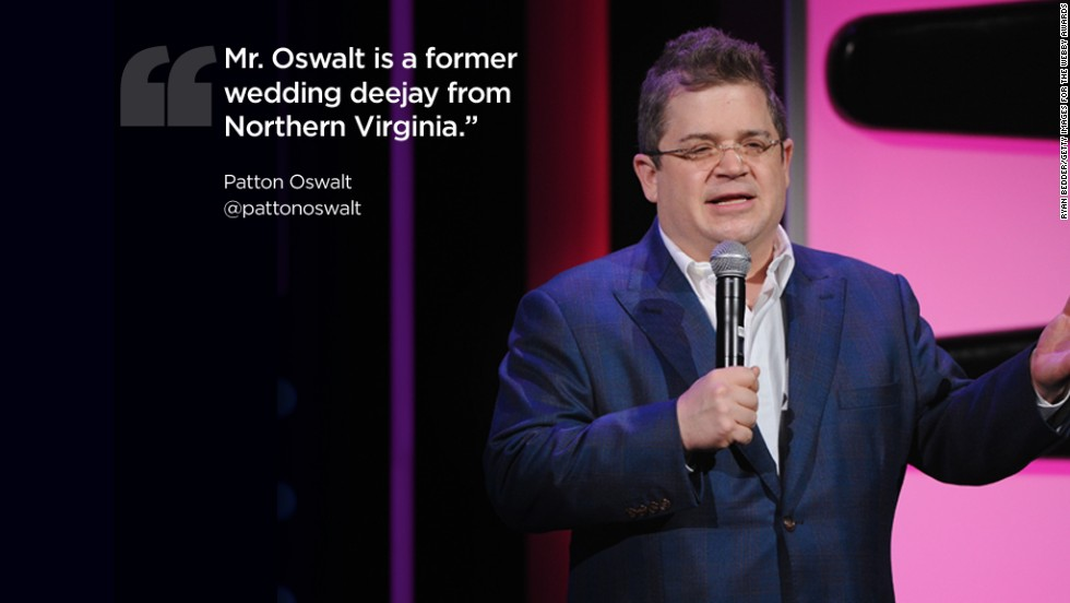 Twitter quotes Patton Oswalt