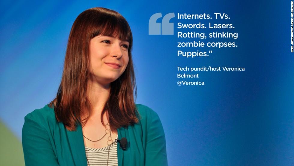 Twitter quotes Veronica Belmont