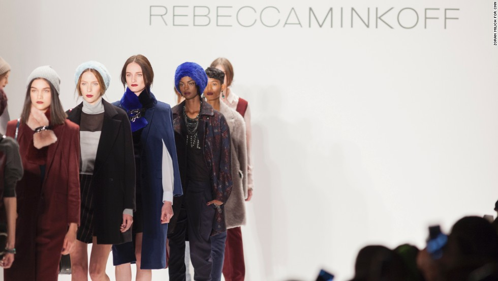 Rebecca Minkoff showed off her line of everyday, seemingly effortless pieces on the second day of the biannual event.