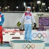 sochi day one winners Bjoerndalen