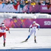 sochi winners day one Bjoergen ski