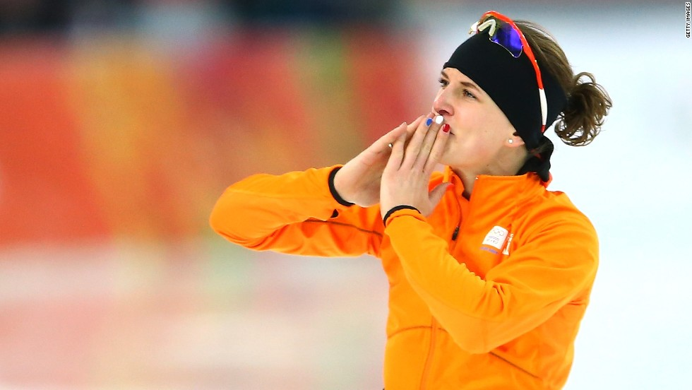 The Netherlands snaffled 23 speed skating medals -- eight of them gold -- with Ireen Wust becoming the face of Dutch dominance as she won two golds and three silvers in Sochi.