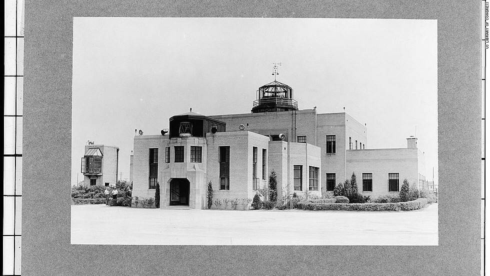 Cleveland's airport website boasts that, in 1930, it was the first airport in the world with an air traffic control tower.