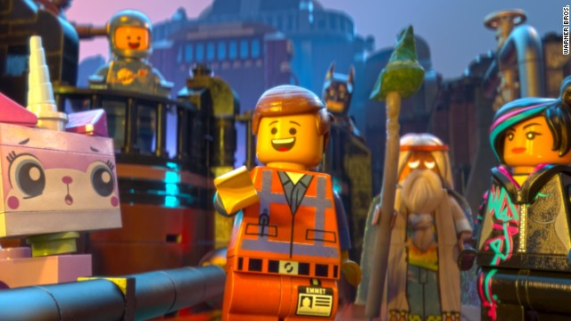 """The LEGO Movie"" opened at No. 1 with an estimated $69.11 million earned."