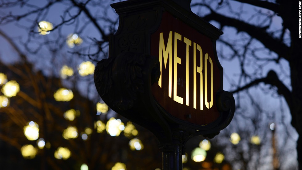 There are 16 so-called ghost stations beneath the streets of Paris. Some can be found in the heart of the city, such as those at Champ de Mars and Croix Rouge.