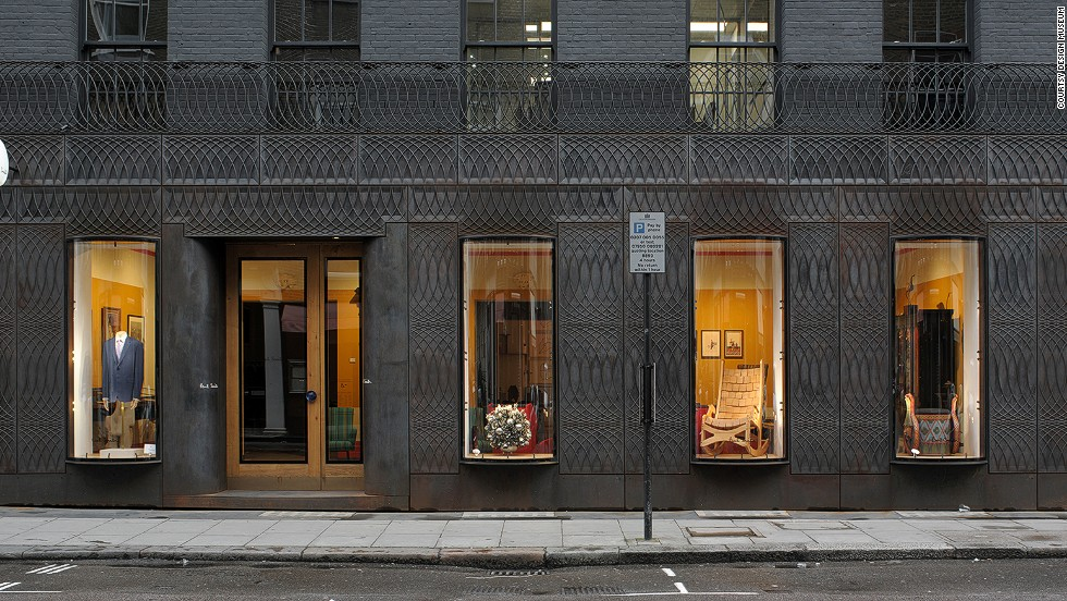 "<em>Facade for Paul Smith, Albermarle Street, Mayfair, London </em><br /><br />The front of designer Paul Smith's shop in one of London's most exclusive districts features cast iron which curves around the building's Regency shape, giving it an abstract spin. Designed by <a href=""http://www.6a.co.uk/"" target=""_blank"">6a Architects</a>, the facade's sinuous windows reflect the glass in nearby arcades."