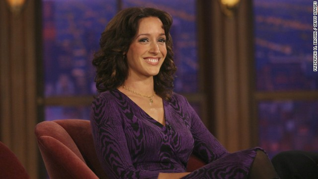 LOS ANGELES - OCTOBER 12:  Actress Jennifer Beals speaks during a segment on the Late Late Show with Craig Ferguson at CBS Television City on October 12, 2006 in Los Angeles, California.  (Photo Frederick M. Brown / Getty Images)