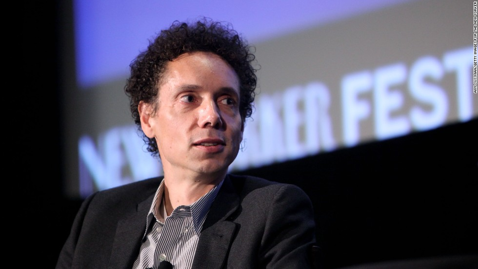 "Journalist Malcolm Gladwell is of Jamaican and Irish heritage. ""I'm of mixed race,"" <a href=""http://www.cnn.com/2011/OPINION/01/24/gladwell.explain/"">he told CNN in 2011</a>, speaking of what happened when he let his hair grow. ""The minute I began to look more like people's stereotype of a black male, (and) have a big Afro, I got stopped by police, and when I went through Customs at the airport, I would always get pulled out. I was getting speeding tickets left and right; it was really kind of a striking transformation in the way the world viewed me."""