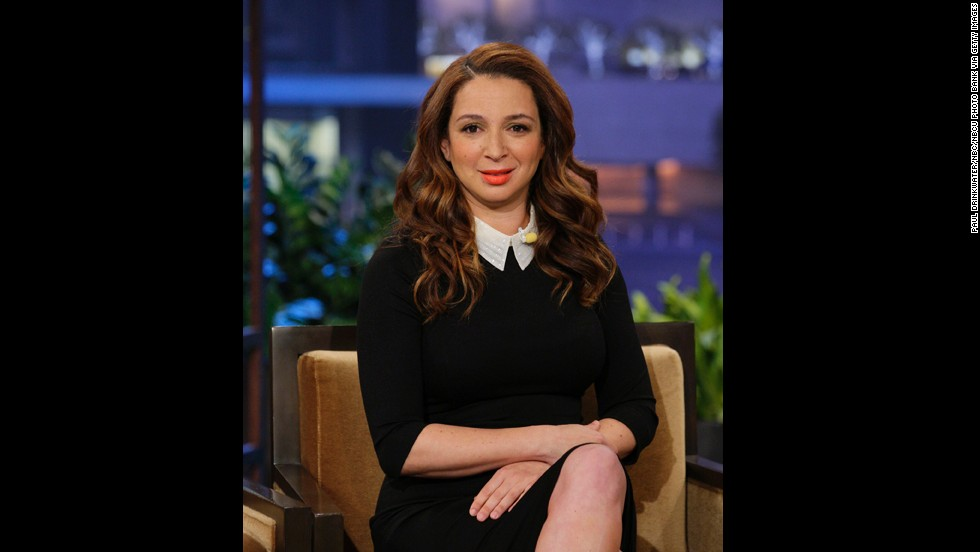 "Actress Maya Rudolph is the daughter of soul singer Minnie Riperton and songwriter Richard Rudolph. ""I don't care for labels,"" she said in the HBO documentary<a href=""http://www.youtube.com/watch?v=ys0M9u0wQUA"" target=""_blank""> ""The Black List</a>."" ""They're just kind of, forced."""