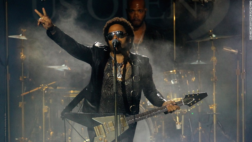 "Lenny Kravitz is the son of Roxie Roker, who played Helen Willis on the TV sitcom ""The Jeffersons,"" and NBC news producer Sy Kravitz. ""I knew that my father physically looked different from my mother, but that wasn't an issue to me,"" Lenny Kravitz said on <a href=""http://www.huffingtonpost.com/2013/05/30/lenny-kravitz-race-biracial_n_3355448.html"" target=""_blank"">Oprah's ""Master Class</a>."" ""People look different.""<br />"