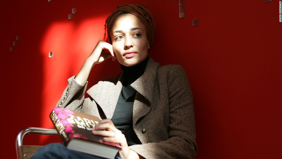 British author Zadie Smith is the child of a Jamaican mother and British father.