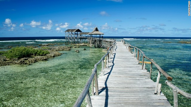 Even if you can't surf, Siargao is a beautiful beach getaway.