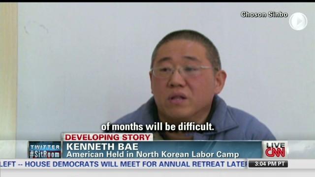 American's plea from North Korean prison