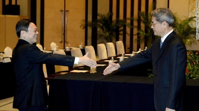 China, Taiwan hold historic talks
